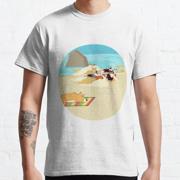 2017 - Corgi Storm - Round Classic T-Shirt