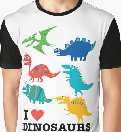 I love dinosaurs Graphic T-Shirt