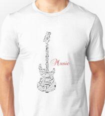 Music guitar note Unisex T-Shirt