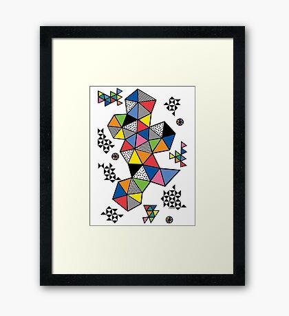 Edgewise  Framed Print