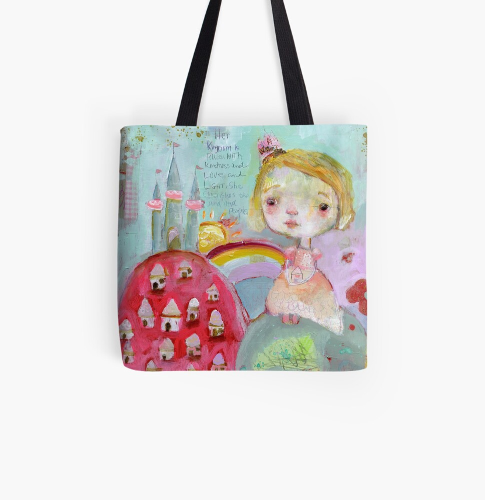 Her Kingdom All Over Print Tote Bag