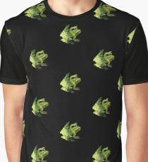 Green Water Abstract Graphic T-Shirt