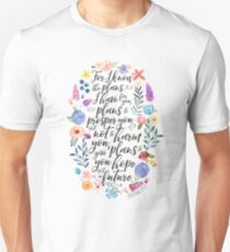 Hope and A Future | Jeremiah 29:11 Unisex T-Shirt