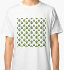 cannabis (marijuana leaf) pattern Classic T-Shirt