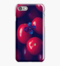 cherry tomatoes iPhone Case/Skin