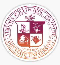 Virginia Tech Seal Sticker