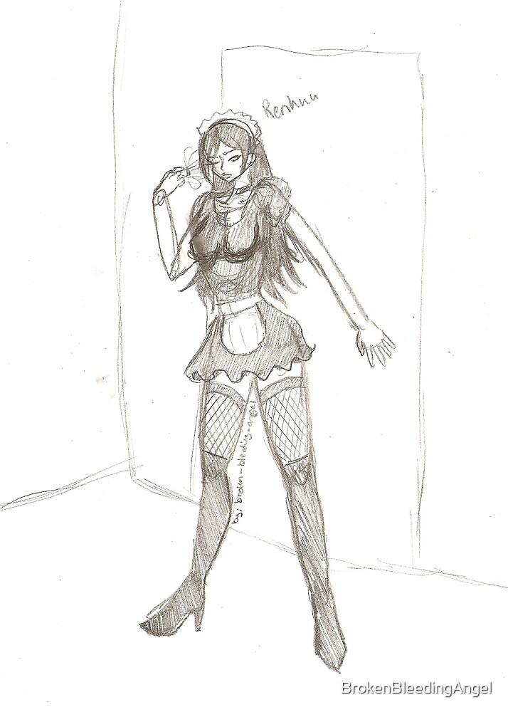 Renkuu the Maid by BrokenBleedingAngel