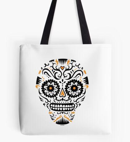 Sugar Skull SF -  on white Tote Bag