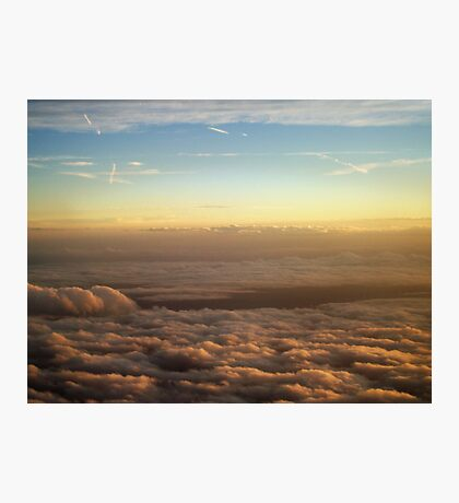 the sky was all aglow Photographic Print