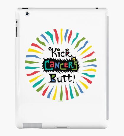 Kick Cancer's Butt  iPad Case/Skin