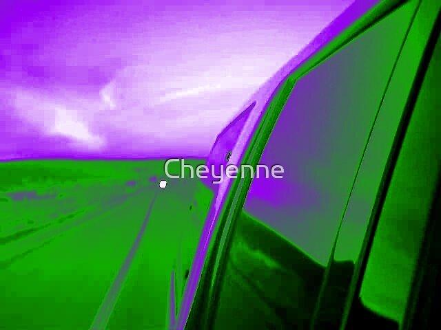 Freaky Sunset by Cheyenne