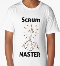 Scrum Master of the Universe! Long T-Shirt