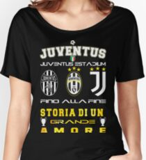 Juventus Turin  Italy Women's Relaxed Fit T-Shirt