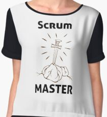 Scrum Master of the Universe! Chiffon Top
