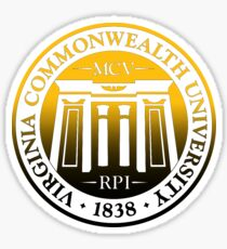 Virginia Commonwealth University Seal Sticker