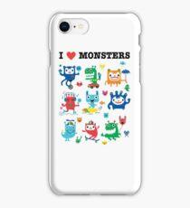 Monster Love iPhone Case/Skin