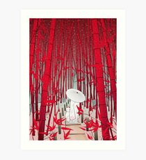 Yuki- onna Art Print