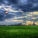 Balloon Sunset by Nigel Bangert