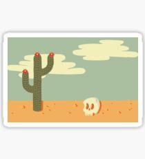 Desert Wasteland Sticker