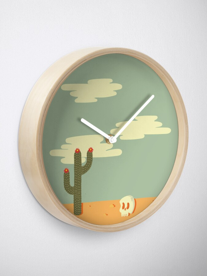 Alternate view of Desert Wasteland Clock