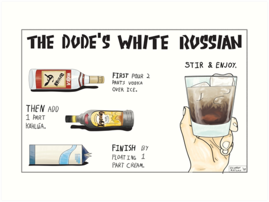 The Dude's White Russian by Brandon Matlock