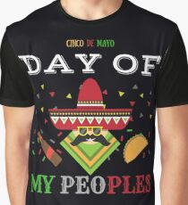 """Cinco De Mayo"" Funny Graphic Print Graphic T-Shirt"