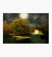 Moonlight in the Berkshires Photographic Print