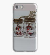 Penguins in jar iPhone Case/Skin