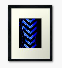 bizzare corset Framed Print