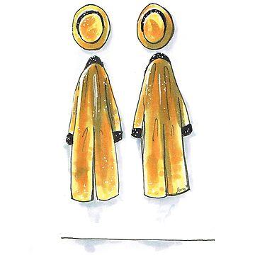Gold Jackets by MoonyIsMoony