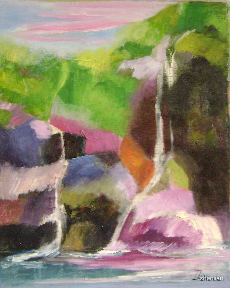 waterfalls 2 by zhenlian