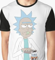 Rick & Morty - Muff Beer Graphic T-Shirt