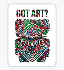Got Art - Santa Cruz Sticker