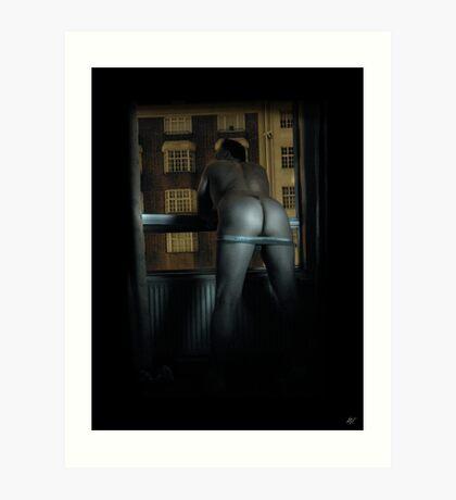 A London Bum Art Print