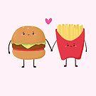 «Hamburguesas y papas fritas» de jennisney