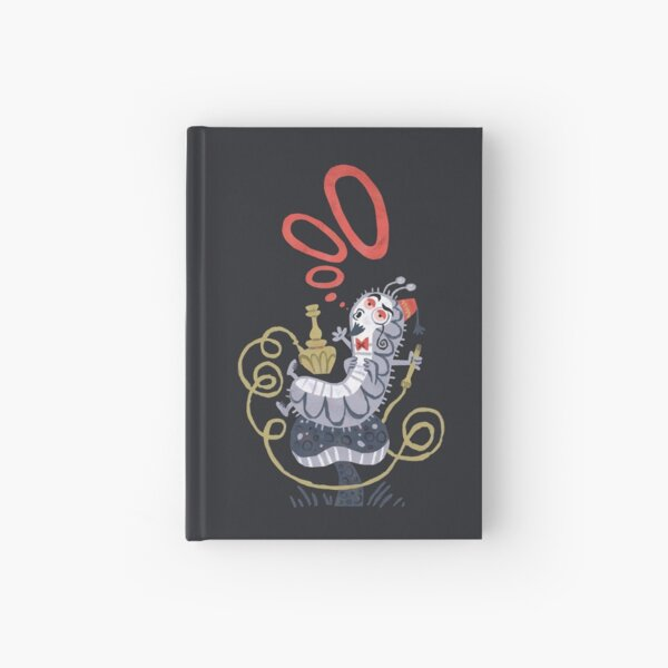 Caterpillar - Alice in Wonderland Hardcover Journal