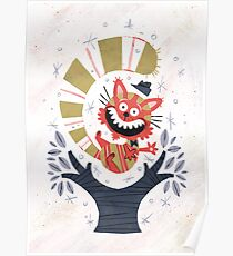 Cheshire Cat - Alice in Wonderland Poster