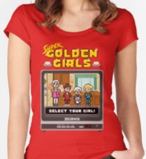 Golden Girls: The Video Game Women's Fitted Scoop T-Shirt