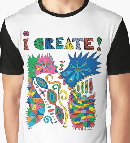 i Create On Track Graphic T-Shirt