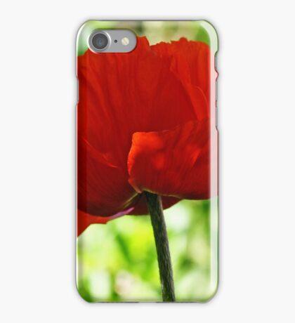Poppy 4 iPhone Case/Skin