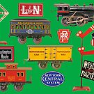 Toy Trains by James & Laura Kranefeld