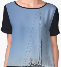 Catamaran. Women's Chiffon Top