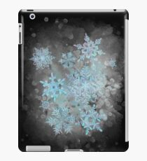 Snow is coming, on black iPad Case/Skin