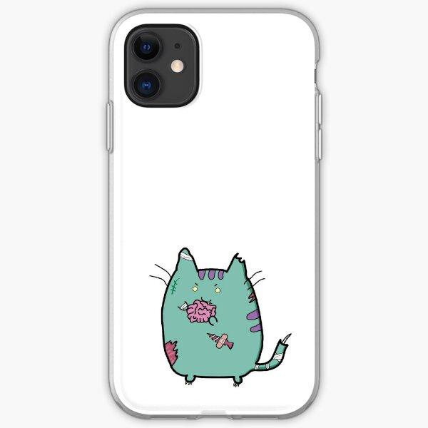 Zombie Cat iPhone Soft Case