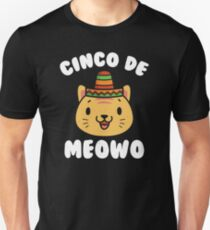 Cinco De Meowo - Funny Cinco De Mayo Cat T-Shirt