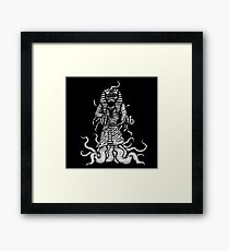 The Crawling Chaos! Framed Print