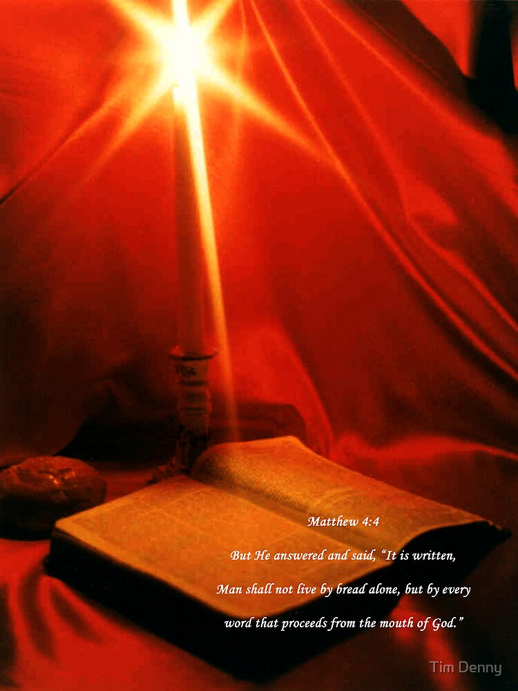 The Bread, The Light, and The Word by Tim Denny