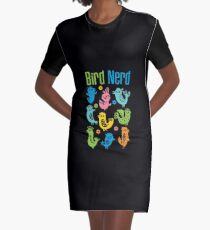 Bird Nerd - dark Graphic T-Shirt Dress