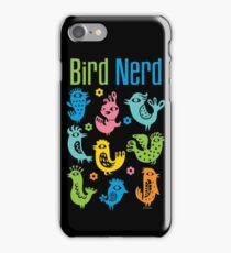 Bird Nerd - dark iPhone Case/Skin