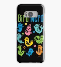 Bird Nerd - dark Samsung Galaxy Case/Skin